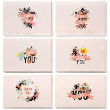Poever Thank You Cards 48 Counts Thank You Notes Bulk Thank