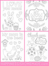 Printable templates for mother's day coloring pages you can print for free. Mother S Day Coloring Pages Free Printables Happiness Is Homemade