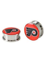 Philadelphia Flyers Bedroom Nfl Philadelphia Flyers Steel Spool Plug 2 Pack Hot Topic