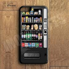 Iphone Vending Machine Classy Snack Vending Machine Plastic Phone Case For IPhone 48 Plus More
