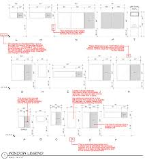 architecture schedule. architectural graphics 101 enlarged window schedule with notes architecture n