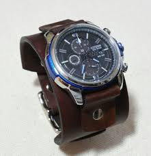 rugged leather cuff durable