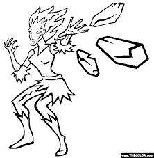 Small Picture Superheroes Online Coloring Pages Page 1