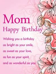 Beautiful Quotes For Moms Birthday Best Of 24 Best Birthday Cards For Mother Images On Pinterest