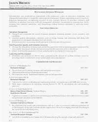 Restaurant General Manager Resume Download General Manager Resume