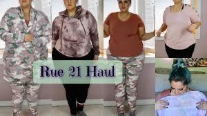 rue 21 plus size clothes rue 21 haul plus size gym clothes youtube