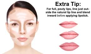 perfect skin and pouty lip tips