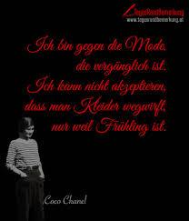 Zitate Mit Dem Schlagwort Coco Chanel Der Die Tagesrandbemerkung