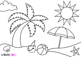 Tous Les Coloriages Vacances Plage Et Palmiers L Duilawyerlosangeles