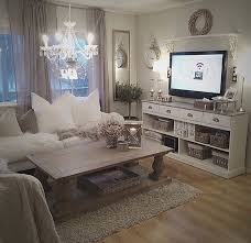 awesome nice cozy living room romantic rustic chic white cream creme