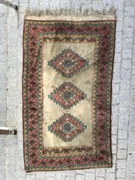 vintage turkish hand knotted rug from kars 1