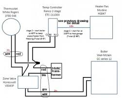 garage heater wiring diagram garage wiring diagrams online hydronic garage heater boiler controls doityourself com
