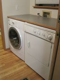 The Best Of Laundry Room Folding Tables : Lovely Small Laundry Room Design  With Wooden Laundry
