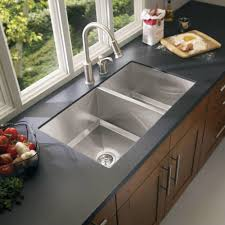 moen 1600 series steel 34 in double basin undermount stainless steel kitchen sink for recommended kitchen