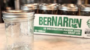 Decorative Canning Jars Bernardin 100ml Decorative Mason Jar YouTube 82