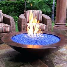 propane glass fire pit what is fire glass and how does it work propane fire pit propane glass fire pit