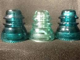 telephone pole insulators antique glass craft