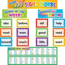 Second 100 Pocket Chart Cards