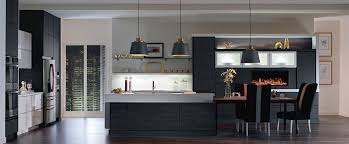 custom black kitchen cabinets. Contemporary Kitchen Cabinets Featuring Wixom And Tranter Laminate Door  Styles Custom Black T