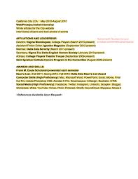 Actress Cover Letter Program Manager Cover Letter Example