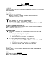 Rutgers Resume Builder Classy CS Resume Critique Please Resumes