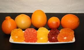 orange varieties