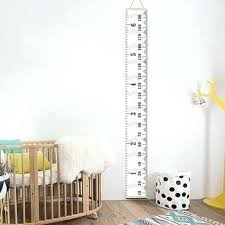 Baby Height Wall Chart Child Height Wall Chart Insigniashop Co