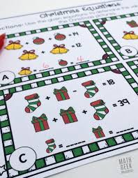 this set of free equation cards can be used by a variety of ages as