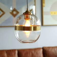 glass pendant light fixtures seeded glass pendant light shades