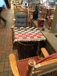 Checker table Picture of Cracker Barrel Oklahoma City TripAdvisor