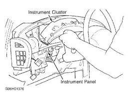 2002 dodge caravan instrument panel bulbs, gas gauge light where is the fuse box on a 2002 dodge caravan below are the removal installation procedures for your vehicle's instrument cluster
