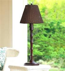 outdoor table lamps for patio outdoor wicker table lamp patio lighting plow hearth for lamps