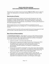 Awesome Youth Development Specialist Sample Resume Resume Sample
