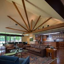 Home Design Half Vaulted Ceiling Beams Kitchen Plumbing