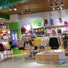 Furniture Retail Store Design Hot Item Retail Kids Garment Shop Clothing Store Interior Furniture Design