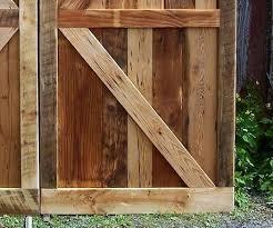 vintage barn doors made from reclaimed antique pine door hardware for