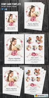 Model Comp Card Template V494 Free Download Vector Stock