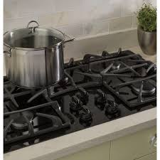 ge 36 built in gas on glass cooktop with power boil burner