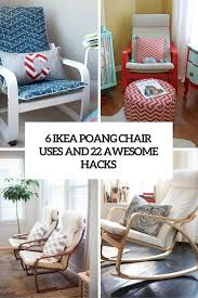 6 uses for ikea poang chair and 22 awesome hacks cover