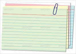 Index Card Template Index Cards Template Magdalene Project Org