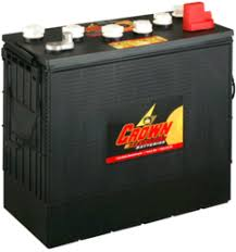 <b>Crown Battery</b> Flooded Lead Acid Batteries | altE