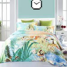 hawaiian comforter sets bedding club scenic oil printing sets bed intended for print comforter idea hawaii hawaiian comforter