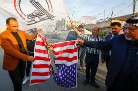 Résultats de recherche d'images pour «irak manifestation contre américains»