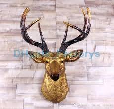 charming design animal head wall decor target me heads s white decoration for pillowfort