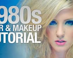 80s hair makeup tutorial