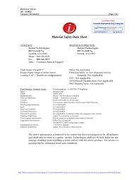 Official Icassette Drug Testing Kit Material Safety Data Sheet Msds