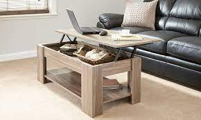 julie lift up storage coffee table in