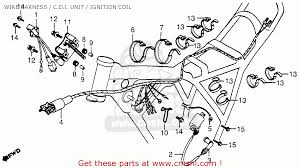 honda xr500 1979 z usa wire harness c d i unit ignition wire harness c d i unit ignition coil schematic