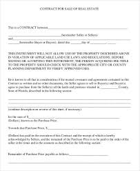 Property Contract Templates Cool 44 Property Contract Templates Sample Examples Free Premium