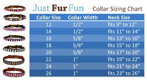 Collar Size Chart Custom Hand Beaded Pet Collars